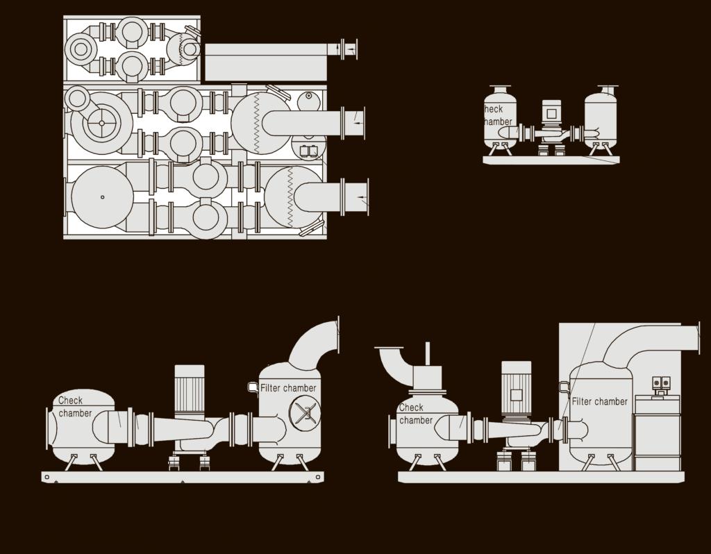 размеры фундамента насосной станции broad